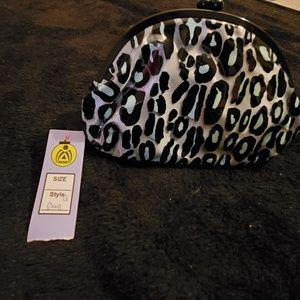 Mac purse leopard print light blue must bundle